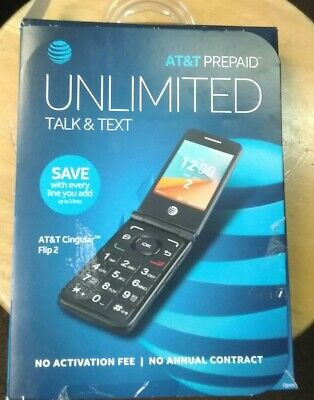 low priced e45c9 0aa2b BRAND NEW AT&T Cingular Flip 2 Phone Gray NEWEST AT&T FLIP PHONE On ...