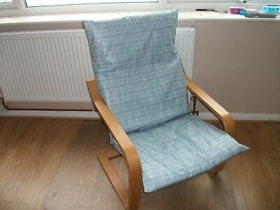 HANDMADE IKEA POANG ARMCHAIR COVER ONLY@special needs@PVC/OILCLOTH#1
