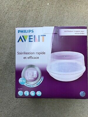 Philips AVENT Microwave Steam Sterilizer - Preowned