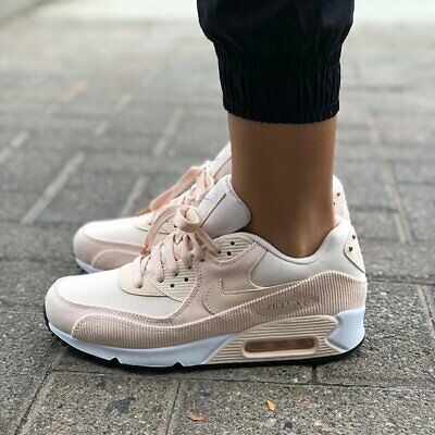 new product a2c24 6732b Womens Nike Air Max 90 Lea Size 6 Eur 40 (921304 800) Guava Ice