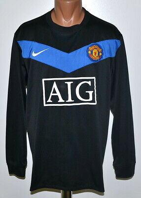 8049fd24d2a Manchester United 2009 2010 Away Football Shirt Nike Long Sleeve Size Xl  Adult