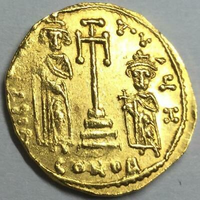 641-668 Solidus of Constans II Gold Coin