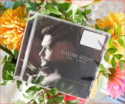 Calum Scott New Sealed Freepost Only Human Special CD You Are The Reason Callum
