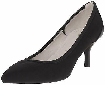 Tahari Womens Toby Pointed Toe Classic Pumps, Black, Size 7.0 HVv2 US / 5 UK