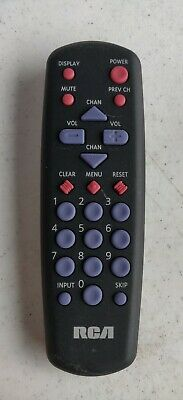 PRE OWNED GOOD CONDITION RCA 20346920 095408 TV Remote Control 226551 CRK10A2