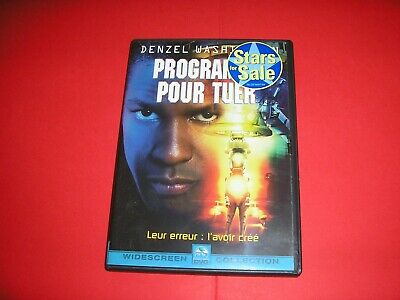 "DVD,""PROGRAMMER POUR TUER"",denzel washington,russell crowe,etc,(548)"