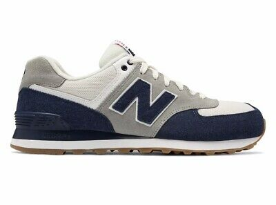 841e15f71490f New Balance Men's 574 Retro Sport Shoes Navy with Silver Size 10.5-D  (Standard