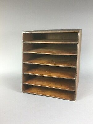 Old vintage wooden pigeon hole/filing box