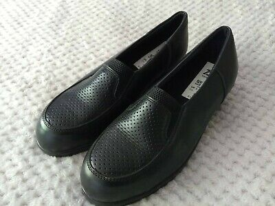 Ladies Totectors Slip On Protective Steel Toecap Work Shoes Size UK 5 EU 38