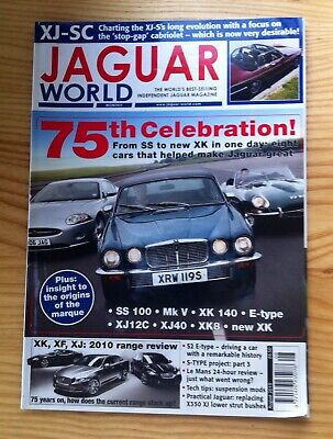 Jaguar World Monthly August 2010