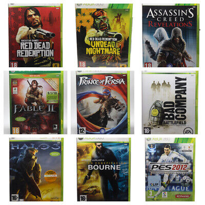 Juegos Xbox 360 Xbox360 - Fable Ii - Prince Of Persia - Red Dead Redemption Unde