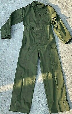 Genuine British Army Olive Green Coveralls Overalls Boiler Suit
