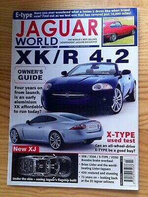 Jaguar World Monthly March 2010 XKR 4.2