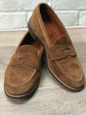 c7f7674880e Alden Leisure Handsewn LHS Snuff Suede Loafers - Size 8 D-width (Medium)