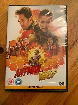 Ant-Man and the Wasp New Sealed [DVD] [2018]- Region 2