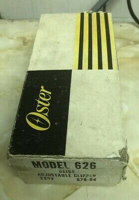 Vintage Oster  Adjustable Clippers - Model 626 Beige -Working