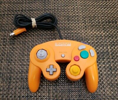 Orange Gamecube Controller Official Nintendo Product  DOL-003  Tested & Working