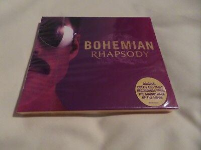 Queen - Bohemian Rhapsody 2018 Movie Soundtrack CD inc. Exclusive Cover & Poster