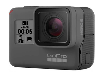 go pro hero 6 comes with charger and warranty