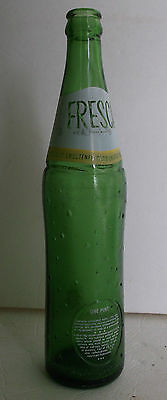 vtg 1970s One Pint green ACL coca cola FRESCA soda bottle Owens Illinois glass