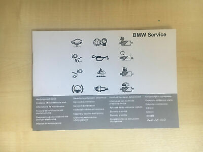 Bmw Service Book Brand New Genuine 1 2 3 4 5 6 7 8 X1 X3 X4