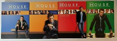 House M.D. Season One, two, Three And Four DVD Box Set