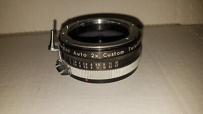 Vivitar Automatic 2X-3 Tele Converter for Nikon Camera Lenses