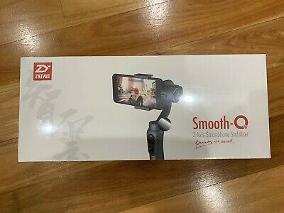Zhiyun Smooth-Q 3-Axis Handheld Gimbal Stabilizer for Smartphone In UNOPENED Box
