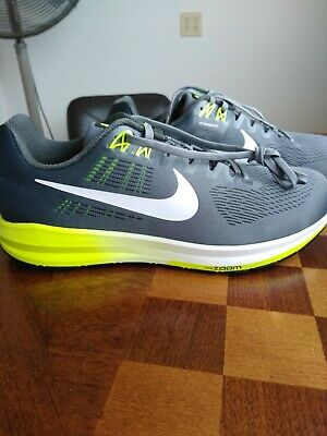 2be857ee88ebb NIKE Men s AIR ZOOM STRUCTURE 21 Running Shoes Sz. 11.5 4E NEW 904697-007