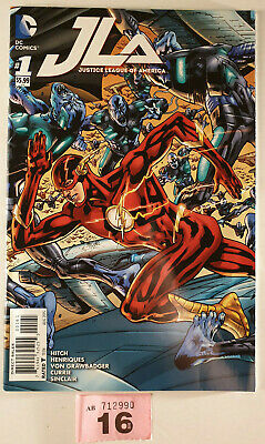 JLA Justice League of America #1 Flash Cover 1st DC Hitch 2015