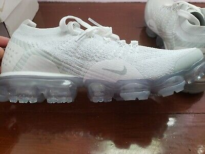 uk availability ea4e9 57d57 NIKE AIR VAPORMAX Flyknit 2 Men's Running Shoes White