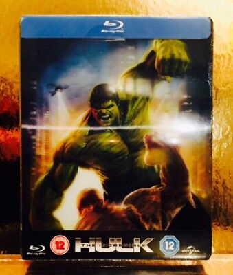 Steelbook Blu-ray The Incredible Hulk  [ Zavvi Limited  2000 Ex ] Lenticulaire
