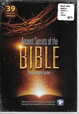 Ancient Secrets of the Bible: The Complete Series, 5-DVD Set, NEW!