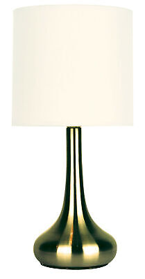 NEW Lola Touch Lamp in Antique Brass - Oriel,Lamps