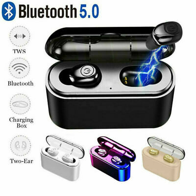 Bluetooth 5.0 Mini TWS Earbuds Wireless Headset Twins Earphone Headphone Stereo