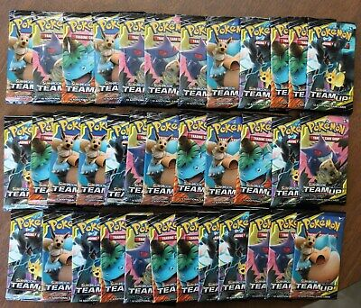 Pokemon Sun & Moon Team Up Tcg (36 Packs) New Sealed