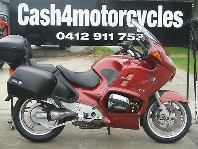 BMW R 1150 RT PLATED 10/2001 WITH ONLY 58550ks only $5990