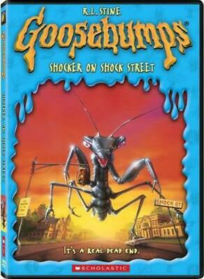 GOOSEBUMPS: SHOCKER ON SHOCK STREET (Region 1 DVD,US Import,sealed)