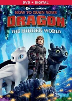 HOW TO TRAIN YOUR DRAGON: HIDDEN WORLD (Region 1 DVD,US Import,sealed.)