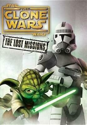 STAR WARS: THE CLONE WARS: THE LOST MISSIONS (Region 1 DVD,US Import,sealed)
