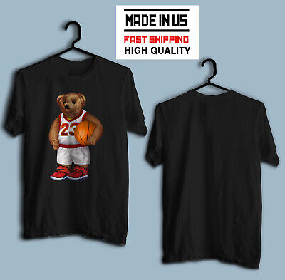 828c2948a VINTAGE T-SHIRT 90'S POLO Bear Basketball Sport T-shirt Made In Us ...