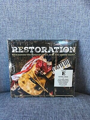 Restoration: Reimagining the Songs of Elton John & Bernie Taupin CD NEW Sealed.