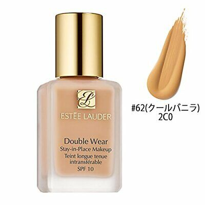 Estee Lauder Double Wear Stay In Place Makeup 62 Cool Vanilla 30ml JAPAN