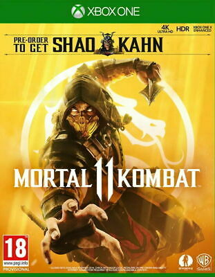 Mortal Kombat 11 Xbox One NEW SEALED DISPATCH TODAY ALL ORDERS PLACED BY 2 P.M.