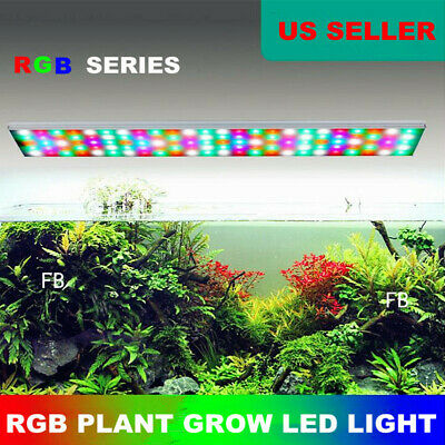 Aquarium RGB Lighting System Aquatic Plant Grow LED Light Water Plant Fish Tank