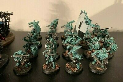 Age of Sigmar - Free People 10x Greatswords and 19x Freeguild Guard Part Painted