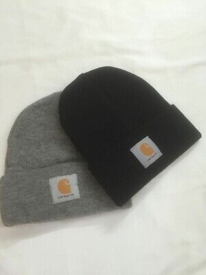 5731b1c5 CARHARTT WINTER KNIT Visor Hat Sock Cap Hat Beanie New A164 - $14.99 ...