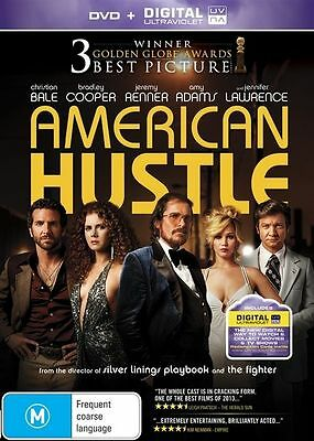 American Hustle -Amy Adams, Bradley Cooper - New Sealed R4 - (D431)