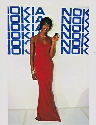 Naomi CAMPBELL NOKIA Photo Presse Originale SIDNEY 1999