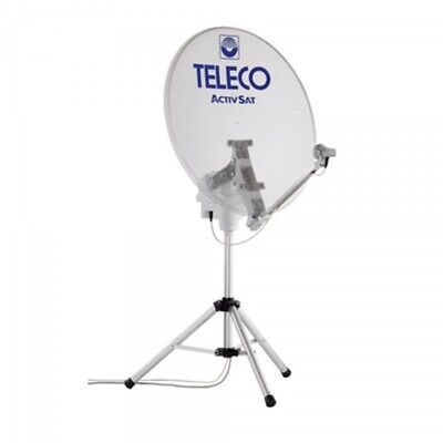 Teleco Activ-Sat 85T Twin vollautomatische Sat Anlage 85cm mobil Camping